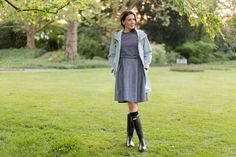 Outfit: My April Weather Essentials  | www.moodforstyle.de | Fashion, Food, Beauty & Lifestyle Blog from Germany | Hunter Boots