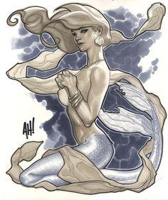 Mermaid by Adam Hughes