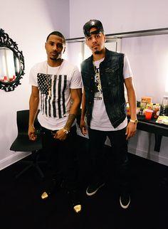 Trey Songz & J Cole.