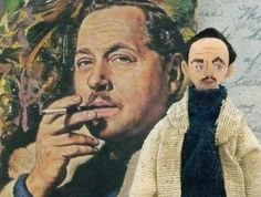 Tennessee Williams Art Miniature Author Collectible Doll