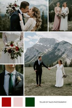 We loved this soft romantic color palette for this Banff Elopement at Tunnel Mountain. To see more of this mountain elopement, visit Teller of Tales Photography. Fall Wedding, Our Wedding, Wedding Ideas, Mountain Elopement, Bridesmaid Dresses, Wedding Dresses, Best Photographers, Banff, Engagement Shoots