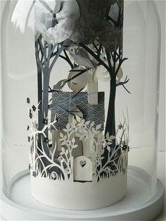 Bell Jar Diorama By Helen Musselwhite