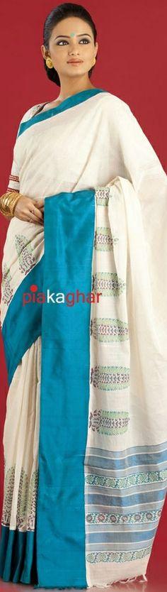 Gaurang Shah designer Mangalgiri saree. original pin by @webjournal