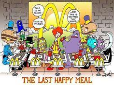 la cène happy meal