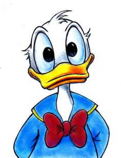donald duck drawing - The Trend Disney Cartoon 2019 Disney Kunst, Disney Art, Walt Disney, Disney Duck, Art Drawings Sketches, Easy Drawings, Simple Disney Drawings, Colorful Drawings, Art Illustrations