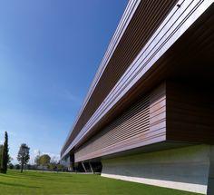 Diesel Headquarter, Breganze, Vicenza, Italy, copper, facade