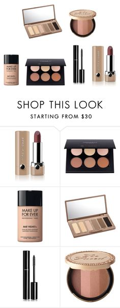"""Friday"" by julietoft on Polyvore featuring beauty, Marc Jacobs, MAKE UP FOR EVER, Urban Decay, Chanel and Too Faced Cosmetics"