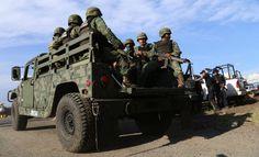 Alrededor de 30 elementos del Ejército mexicano llegaron este jueves 27 de agosto a la Tenencia de Antúnez, luego de los enfrentamientos de la semana pasada.