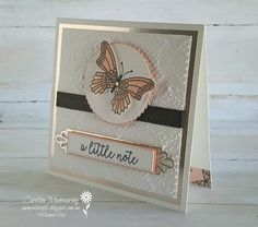Butterfly Gala in Petal Pink for our AWH Colour Creations blog hop.