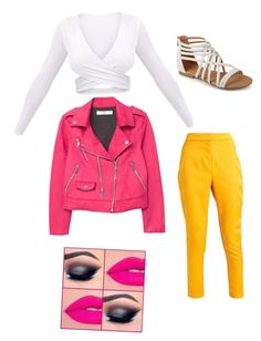 """""""Untitled #196"""" by susannhaabeth on Polyvore featuring MANGO"""