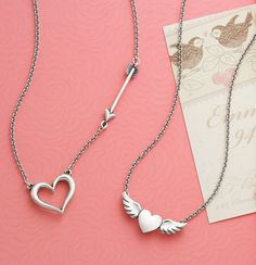 Valentine Collection 2016 - Heart Necklaces #JamesAvery