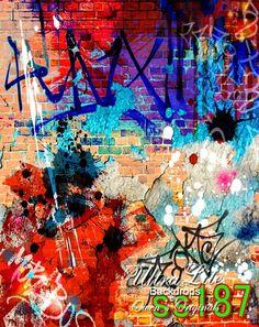 Photography Backdrop Grunge photo Background Ultralite Fabric-Not Vinyl SS187