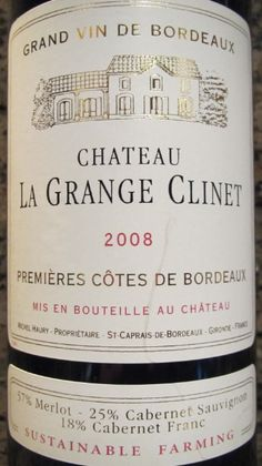 Must find this wine! I miss French wines