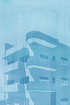 Bauhaus Architecture, Tel Aviv, Surface Pattern Design, Types Of Art, Art Inspo, Palace, Roman, Calendar, Illustration Art