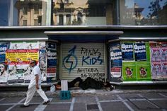 Greek's average disposable income dropped by a third and the economy is seen contracting by almost a quarter between 2008 and 2013, the country's worst recession since the World War II. Austerity measures adopted since the country's first EU/IMF bailout in mid-2010 have driven unemployment to a euro zone record of about 27 percent.   [Reuters]