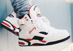 #sneakers #news The First Retro of Patrick Ewing's Dream Team Shoe Is Available Now