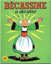 LES ALBUMS MERVEILLEUX - BECASSINE A DES IDEES - PINCHON & CAUMERY - 1961