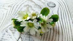 Polymerní šperky s květinami