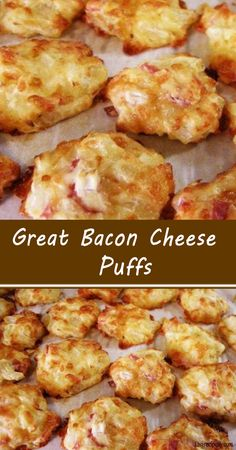 Bacon Recipes, Brunch Recipes, Breakfast Recipes, Dinner Recipes, Cooking Recipes, Finger Food Appetizers, Yummy Appetizers, Appetizer Recipes, Snack Recipes