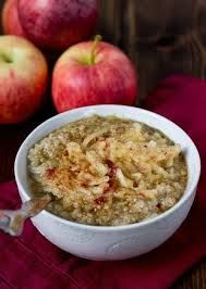 Ever think of having Quinoa for Breakfast? This Apple Pie Quinoa is yummy! You should give it a try!  http://FourSeasonGourmet.com/apple-pie-quinoa-breakfast-bowl-3/