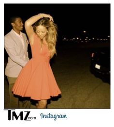 """""""TMZ: Nick Cannon and Lauren Thompson are dating! (Read D)"""" by littlestylez-official ❤ liked on Polyvore"""
