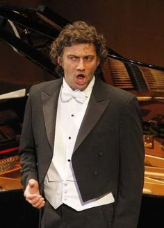Jonas Kaufmann, of Munich, has been Faust at the Met this season. Here, he's singing a recital in L.A. International star with a voice like really good coffee.