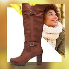 O frio do inverno fica muito mais gostoso com essa bota linda, né?! Ref: 335018