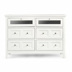 Kentwood 4 Drawer Media Dresser by Magnussen Furniture. $919.99. Felt lined top drawers. French dovetail in the front and English in the back. Full extension metal side guides. Made of select hardwood solids. 4 Drawers. B1475-36 Features: -Full extension metal side guided drawers.-Tinted drawer interiors.-Top drawers fronts drop down for easy access for component set up.-Drawers have English and French dovetails.-Wire management system for ease of set up.-Offers extra ...