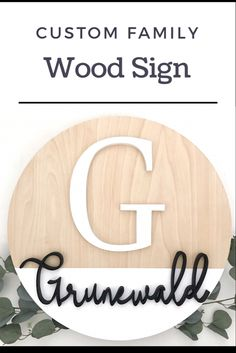 Personalized & Custom wood signs, decor, and more! Wooden Signs With Sayings, Family Wood Signs, Nursery Signs, Nursery Decor, Farmhouse Style, Farmhouse Decor, Wood Name Sign, Signages, Realtor Gifts