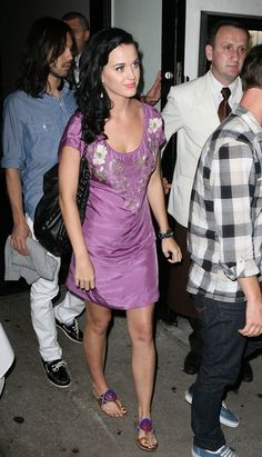Katy Perry in Sam Edelman sandals