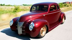 "1940 Ford First Drive! Cruising in the Ridler Winning ""Checkered Past"" - HOT ROD Unlimited Ep. 39"