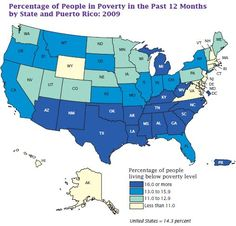 highest poverty levels in the us.