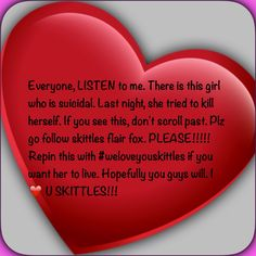 #weloveyouskittles @AloneAngelFox I love you!!! Ps Kass Franta Dallas made this