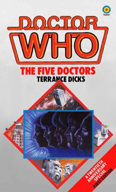 doctor who the five doctors book