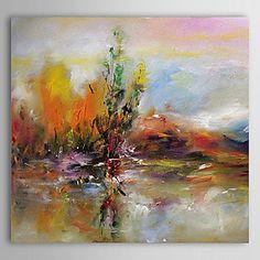 olieverfschilderij abstract 1305-ab0563 met de hand beschilderd doek – EUR € 44.28