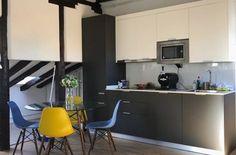 Cocina Loft Centro Loft, Bar, Table, Furniture, Home Decor, Centre, Kitchens, Decoration Home, Room Decor