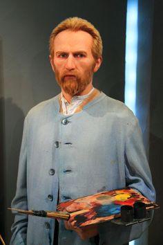 Vincent van Gogh wax sculpture at Madame Tussauds, London