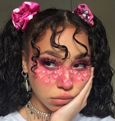 Makeup is a technique and it's an art, isn't it? Let's enjoy and learn these amazing creative makeup art… Makeup Inspo, Makeup Art, Hair Makeup, Makeup Drawing, Makeup Goals, Anime Eye Makeup, Makeup Ideas, Makeup Monolid, Cute Makeup Looks