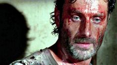 Such a cool, albeit bloody, screen shot from TWD.