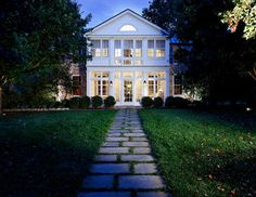 Front Walkway - traditional - exterior - dc metro - by KohlMark Architects