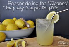 Sadly, this world of ours is a toxic place. We don't need to panic, however, because our bodies are amazingly designed by our Creator to detox on their own every single day. Here are 7 effective, simple, and inexpensive things you can support your body's natural detox pathways. [by Lindsey