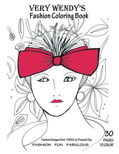An Adult Coloring Book for Fashion Lovers 30 Pages of Fashion Illustrations for you to color with pencils, markers or watercolor paints.  Order on Amazon or www.verywendy.com Adult Coloring, Coloring Books, Coloring Pages, To Color, Fashion Books, Custom Art, Colorful Fashion, New York Fashion, Cool Style