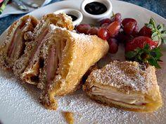 Disneyland's Famous Monte Cristo Sandwich Recipe!