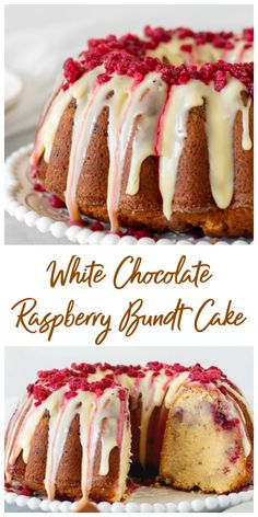 cake recipes Smooth and delicious, this White Chocolate Raspberry Bundt Cake recipe will make you a fan of this combination! The flavors are subtle and deep at the same time, the crumb is dense and tender and the cake lasts for several days. Dessert Dips, Oreo Dessert, Köstliche Desserts, Delicious Desserts, Delicious Chocolate, Spring Desserts, Easter Desserts, Birthday Desserts, Cake Birthday
