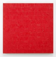 Gavin Turk, Red Senza Titolo, Oil on linen. Copyright the artist. Gavin Turk, Ben Brown, British, Oil, London, Fine Art, Home Decor, Decoration Home, Room Decor