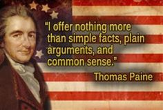 Thomas Paine Common Sense Quotes 29 Best MOST FAMOUS THOMAS PAINE QUOTES images | Thomas paine  Thomas Paine Common Sense Quotes