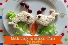 Super easy ideas to put more fun into food for kids!