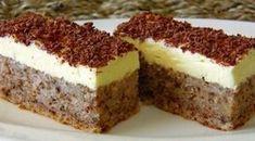 Čudo od jednog jajeta - The One Egg cake Albanian Recipes, Croatian Recipes, Czech Recipes, Russian Recipes, Baking Recipes, Cake Recipes, Dessert Recipes, One Egg Cake, Croatian Cuisine