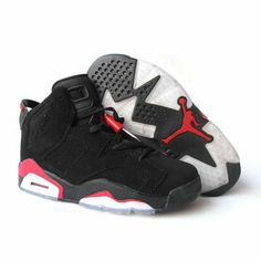 OFF! Air Jordan Retro 6 Pour Femme Noir/Rouge from Reliable Big Discount! OFF! OFF! Air Jordan Retro 6 Pour Femme Noir/Rouge and preferably on Yesn Jordan Shoes For Women, Cheap Jordan Shoes, Nike Air Max For Women, Air Jordan Shoes, Women Nike, Nike Air Jordans, Jordans For Men, Jordans Sneakers, Retro Jordans