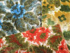 Colorful Vintage Cut Velvet Upholstery Fabrics Fabric Colors
